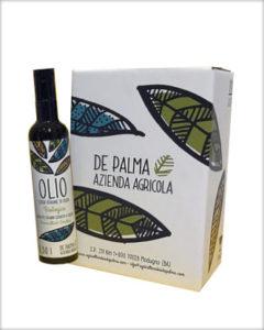 Azienda Agricola de Palma, Extra virgin olivenolje, 500 ml. Puglia
