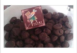 Søtsaker - Tørkede fiken med sjokoladetrekk 250 gr